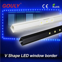 new product glass window decorative led outline light