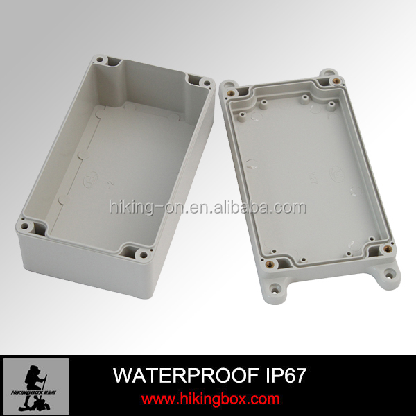 IP66 ABS Wall Mounting Plastic Electronic Enclosure /PCB Device Box With Ears160*90*60mm