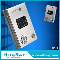 IP door entry phone voip phone/sip phone door bell intercom Keypad