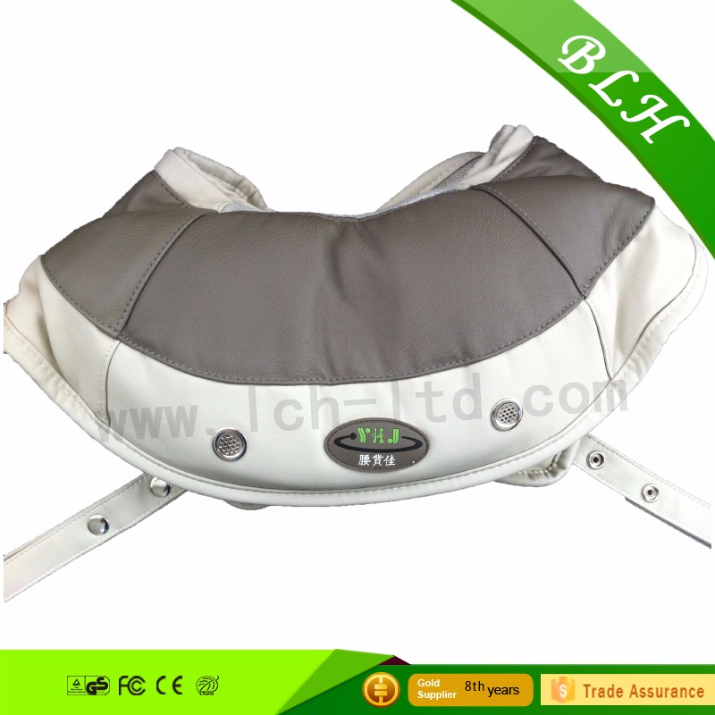 2016 Logo Print Deep Kneading Rollers with Heat shoulder massage belt