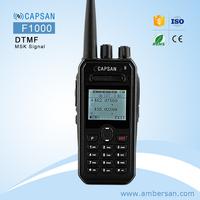 Long Range 8km Dual Band UHF/VHF 8W potable Walkie Talkie frequency fm transceiver ham Two way radio