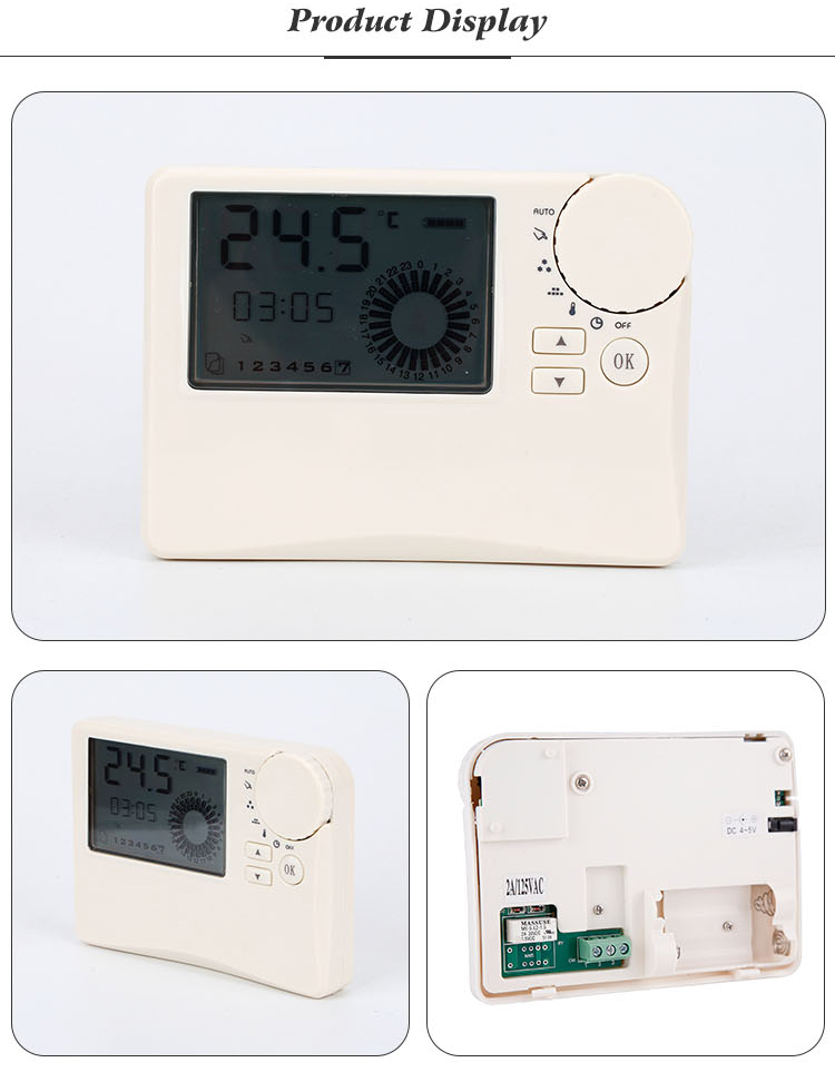 Weekly Programmable Function Safety Wireless Programmable Thermostat