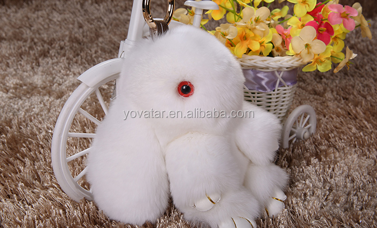 Cute Cartoon Rabbit Doll Animal Plush for Bag/Key/Phone Decoration or Key/Car Chain