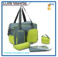 Multifunctional Protable Green Diaper Changing Bag