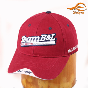 Cheap Custom Design Hats Good Quality 3D Embroidery Fitted Baseball Caps For Sales