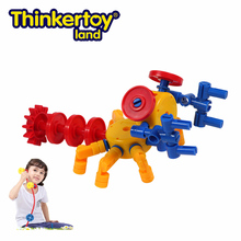 Thinkertoy Land Child Game Blocks Educational Toy Tiny Creatures Lobster