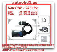 autoobd2.us presents Newest Quality A+ DHL FREE ! LED connector black tcs cdp pro plus 2013 r2 software + free ACT for CAR TRUC