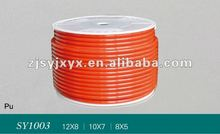 PU air line tube 8mm OD 5mm ID for air steeming pipeline