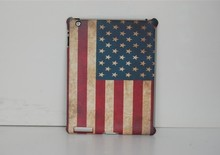 Map Design Leather Smart Cover With Hard Back For iPad 2/3/4