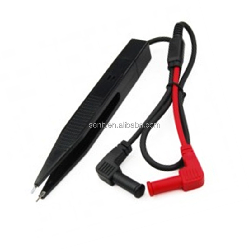 Multi-purpose Test Lead SMD Resistor Voltmeter Capacitor Tester Clip Meter Probe Multimeter Tweezers