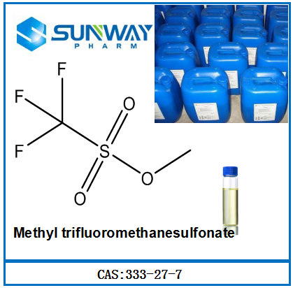 High purity Methyl trifluoromethanesulfonate CAS NO. :333-27-7