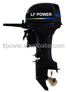 Used Four Stroke Outboard Motor Boats 40hp 60hp Long Shaft