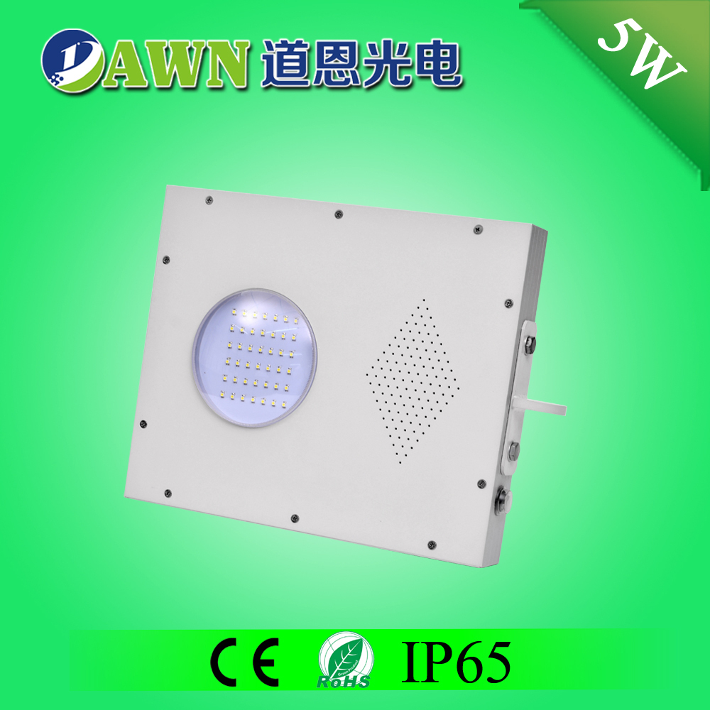 5W Sunpower high quality all in one led solar led street lighting four seasons courtyard solar lights innovations