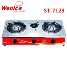 stainless steel 3 burner gas stove in dubai price