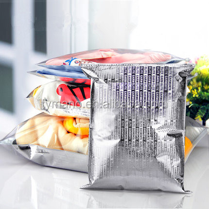 Aluminum Foil Plastic Doll Clothes Packaging Bags