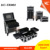 2 in1 set Professional Cosmetic Beauty Rolling Train Case  Aluminum Makeup Trolley Case with 4 wheels  KC-TR002