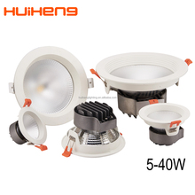 China Manufacturers Gimbal Cob Led Light Downlight Fixture ,Downlight Housing,Cob 18w Recessed Led Downlight Parts