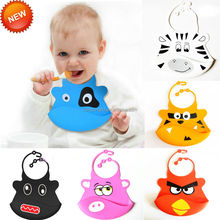 Silicone Bib, Easy to Rinse and Re-use Baby Bibs for promotion