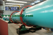 Supply Brown coal rotary dryer machinery to reduce liquid moisture in material of Brown coal,sawdust,sand-- Sinoder Brand