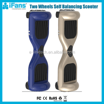 iFans New Mini Horverboard , Smart Two Self Balancing Standing Electric Unicycle Scooter 2 wheels, Passed CE.FCC