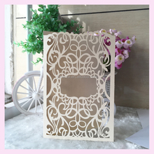 The new 2016 wedding invitation cards,different kinds of laser cut greeting card debut chinese birthday invitation cards