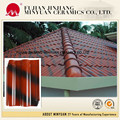 HOT SALE Villas use light weight clay interlocking ceramic roofing tiles