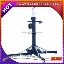 Heavy Duty 250kg Tower truss stand lift 6m height Stage lighting Lift tower