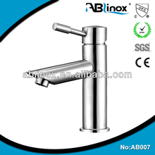 stainless steel wash single basin mixer for bathroom