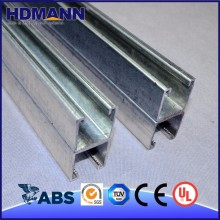 Popular Galvanized Steel Channel Iron Standard Size