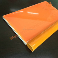 orange border tiles for bathrooms 15mmx340mm