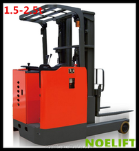 used truckload CE ISO certification 1.5-3ton electric reach stacker reach truck electric forklift carretilla elevadora price