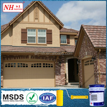 Hardwearing and Protective Exterior Wall Coating