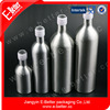 pure aluminum olive oil bottle with plastic thread manufacture