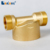 LL-SX 07 whole house main line stainless steel mesh brass pre filter water treatment appliances