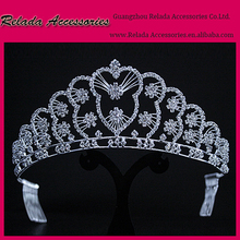 2016 tall crown royal gift set big princess jewelry pageant crowns crystal tiara for sale