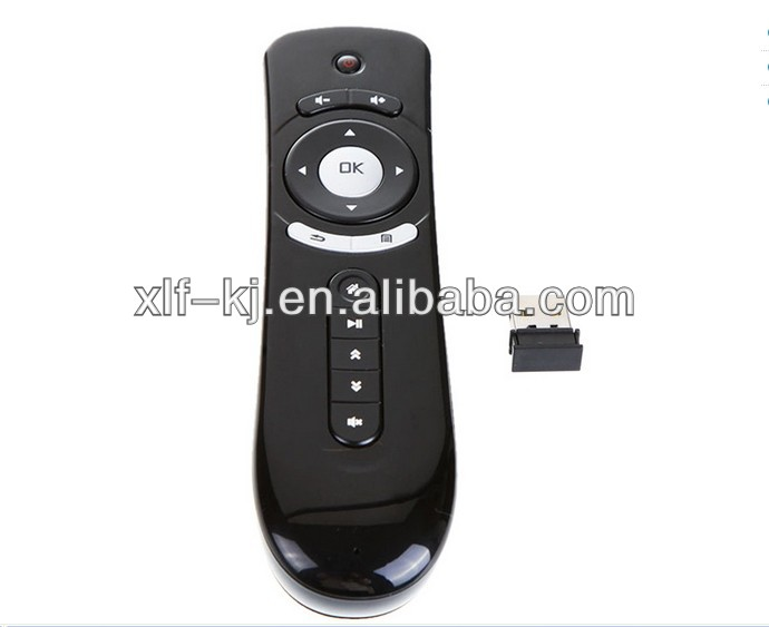 XLF Factory Supply Air Mouse 2.4G 3D Motion Stick Remote PC Remote Controller Mouse for TV Box Smart TV Media Player