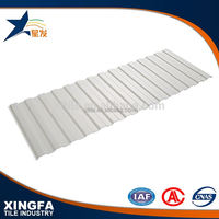 High light-transmittance pvc clear roofing tiles