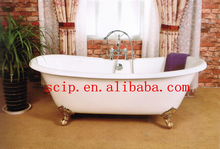 deluxe clawfoot cast iron color bathtubs