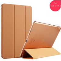 Top/high quality Folding Leather Stand Tablet Cases For 2017 new iPad, Fashionable Smart Cover For iPad Pro 9.7 Case