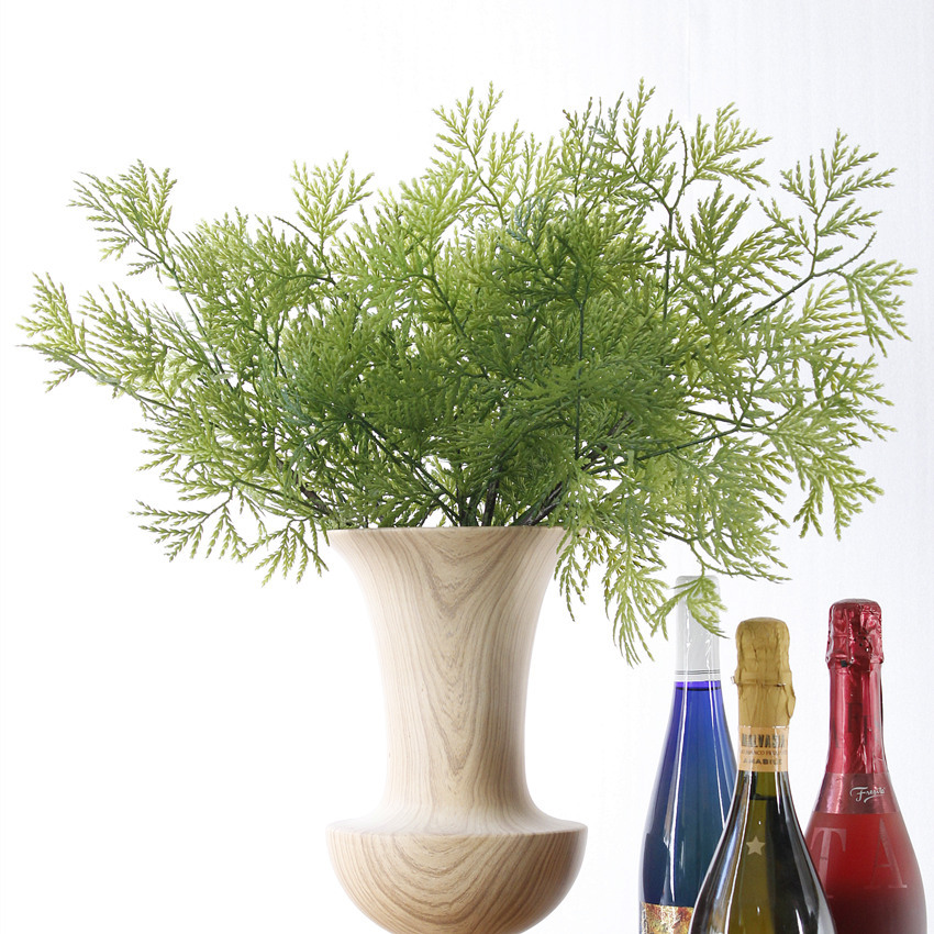2016 New artificial cypress artificial leaf for flower arrangement plastic leafs for decorations