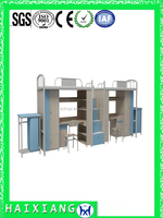 cheap wood bunk bed designs modern dormitory bed HXDM026