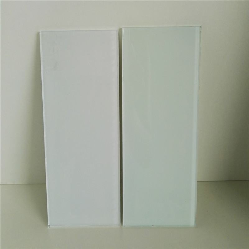 4mm, 5mm, 6mm, 8mm, 10mm, 12mm White Painted Glass Rate, White Painting Glass Price m2