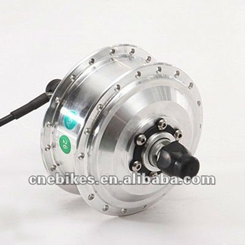 Brushless geared hub electric bicycle motor 250w view for Geared brushless dc motor