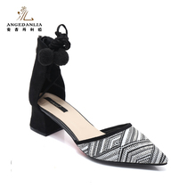 Hot sale latest low price girls ladies high heel sandals