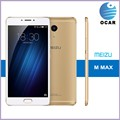 original Meizu Max Mobile Phone 6 inch screen Helio P10 3GB RAM 64GB 13MP 4100mAh