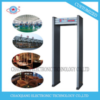 6 zones walk through metal detector Widely used in factories and government bureaus
