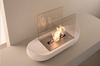 inovation 2015 Cute and Cheap table top ethanol fireplace with real fire