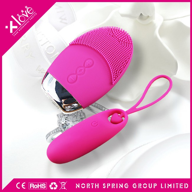 IP65 waterproof massager vibrating adult toys dual motors remote control bullets