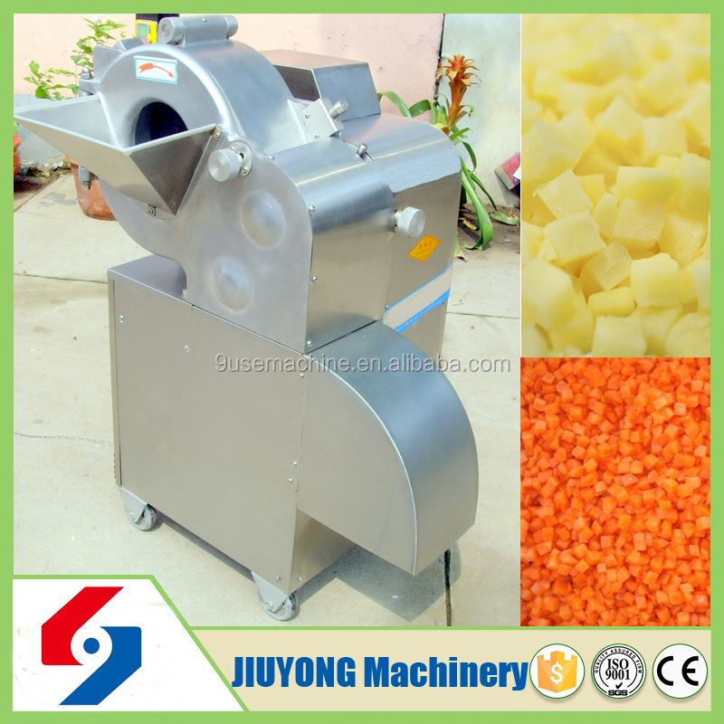 Economical and practical potato chips slicing machine