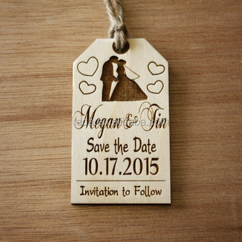 Free shipment personalized Handmade Wooden Saved DateS